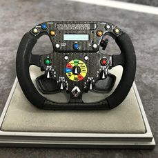 Renault - Formula One - Fernando Alonso - 2006 - 1/4 scale steering wheel
