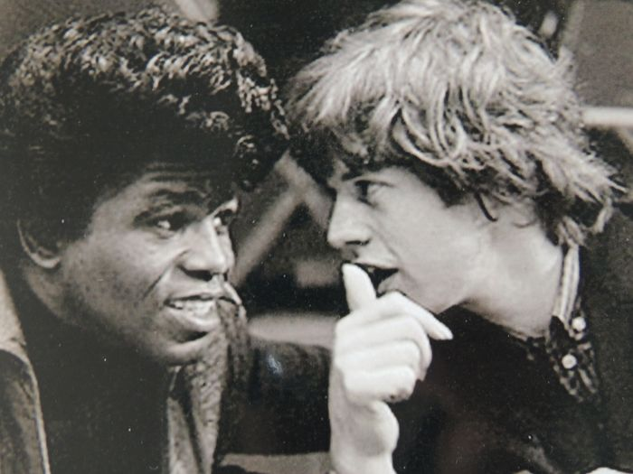 Stunning Mick Jagger & James  Brown - Photo - From The Icons Collection - Photo with COA - Picture - 1992/1992