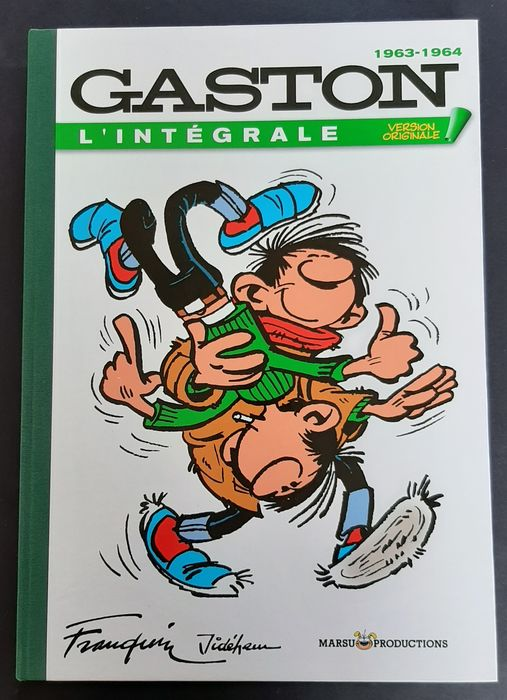 Gaston - L'Intégrale Version Originale T4 - 1963/1964 - C - TL - (2007)