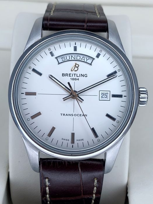 Breitling - Transocean Day Date Automatic - Ref. A45310 - Hombre - 2011 - actualidad