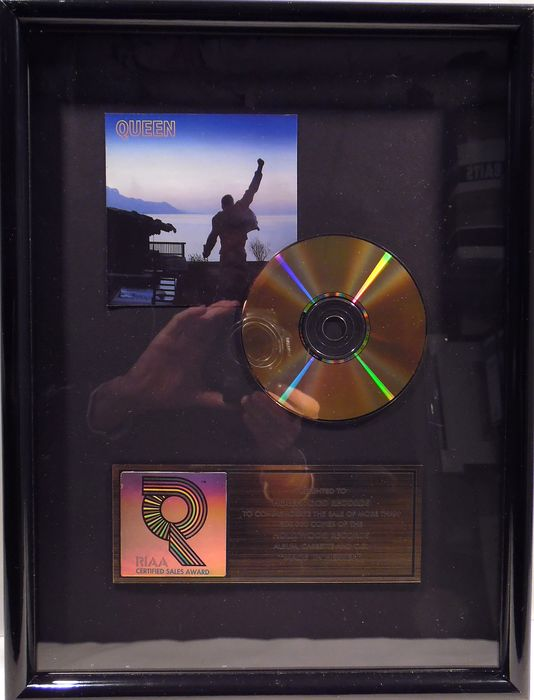 Queen - Made in Heaven - Offizieller RIAA-Award - 1996/1996