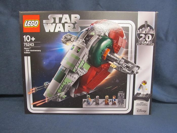LEGO - Star Wars - 75243 - Set SLAVE 1 20th Anniversary Limited Edition Retired in 2018, 1007 pieces
