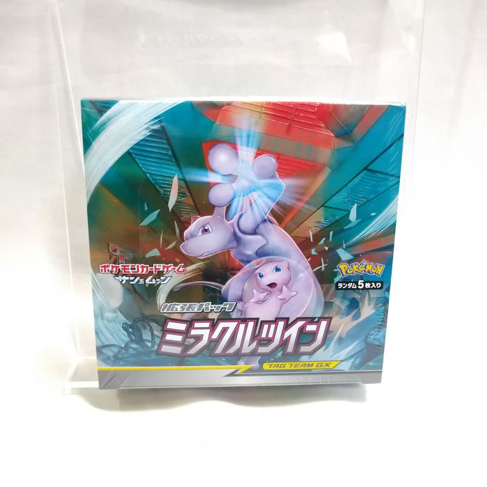 Pokemon - Box Trading card Pokemon Card Sun and Moon Miracle Twin Unopend BOX which has 30 packs