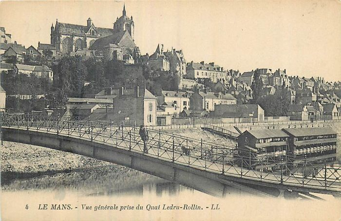 France - Department 72 - Sarthe - Postcards (Collection of 80) - 1900-1930