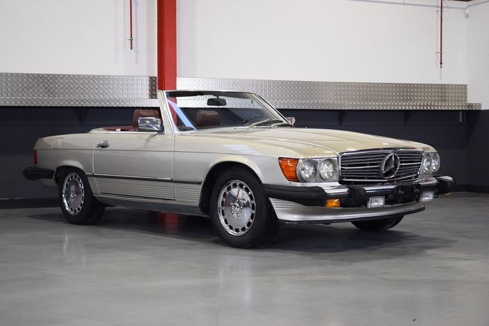 Mercedes-Benz - 560SL - NO RESERVE - 1986
