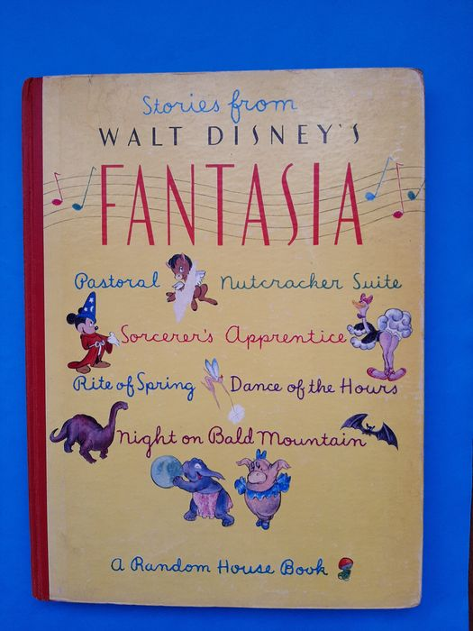 Fantasia - Stories From Walt Disney's Fantasia - First edition - (1940)