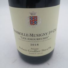"2018 Chambolle-Musigny 1° Cru ""Les Amoureuses"" - Robert Groffier - 1 Bottle (0.75L)"