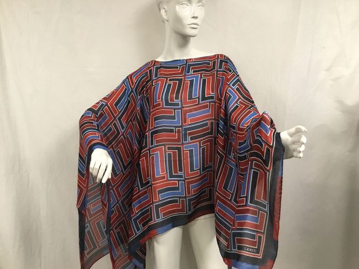 Lancel - Poncho / Scarf in Modal and Cashmere - Écharpe