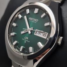Seiko - 'NO RESERVE PRICE' Lord Matic GREEN - 5606-7360 - Heren - 1970-1979