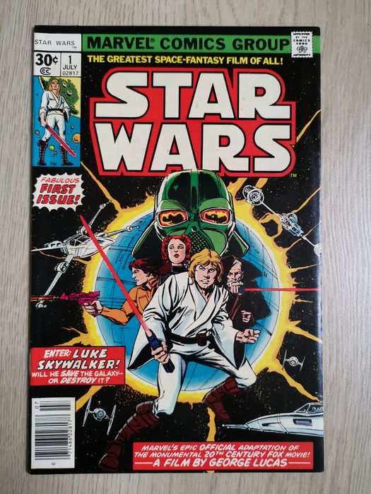 Star Wars 1 - First star wars issue! First edition hot book! Higher grade - Softcover - Eerste druk - (1977)