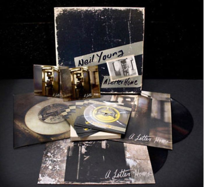 Neil Young - A Letter Home Super Deluxe Limited Edition Lp/Cd/Dvd Box Set - Dozen set - 2014