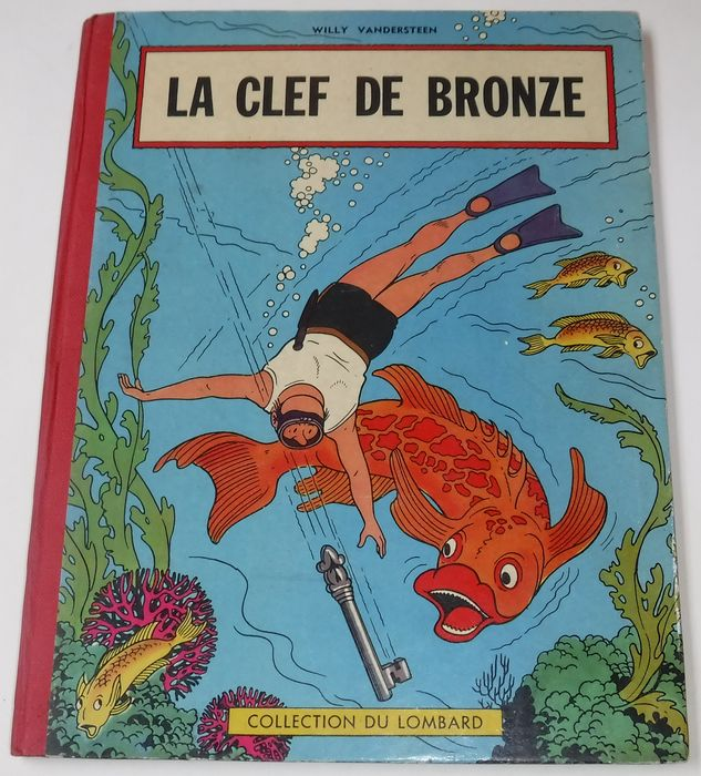 Bob et Bobette - La clef de bronze - Collection du Lombard - C - First edition - (1957)