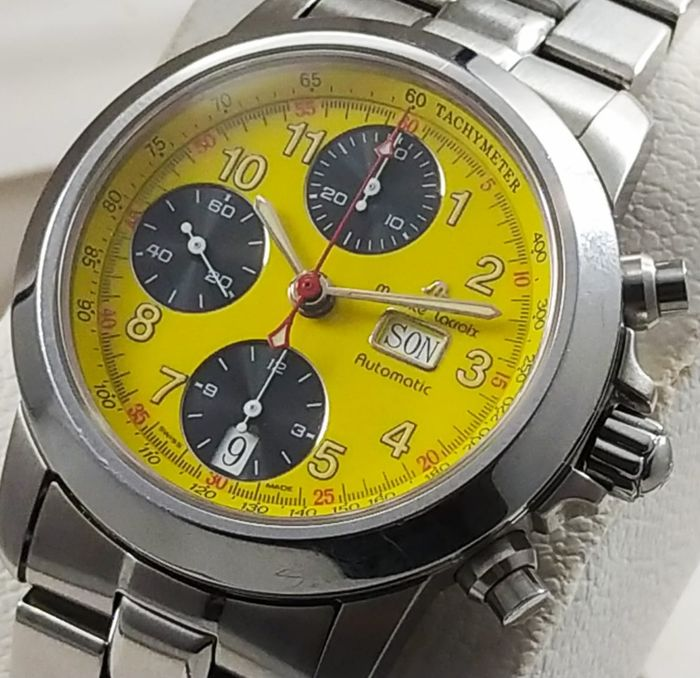 """Maurice Lacroix - """"NO RESERVE PRICE """"Croneo Automatic Chronograph Day-Date  7750 Valjoux - 39721 - Uomo - 2000-2010"""