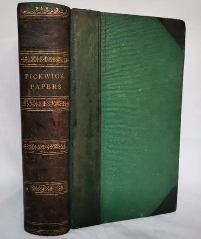 Charles Dickens - The Posthumous papers of the Pickwick Club. (early edition) - 1837
