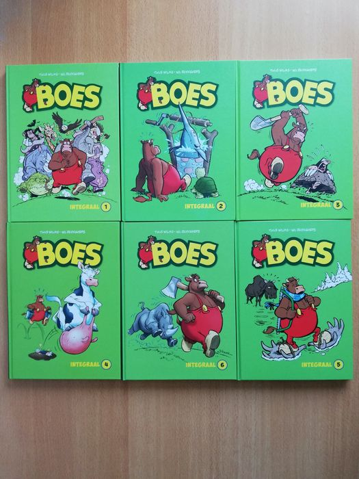 Boes 1 t/m 6 - Integraal - Hardcover - First edition - (2016/2018)