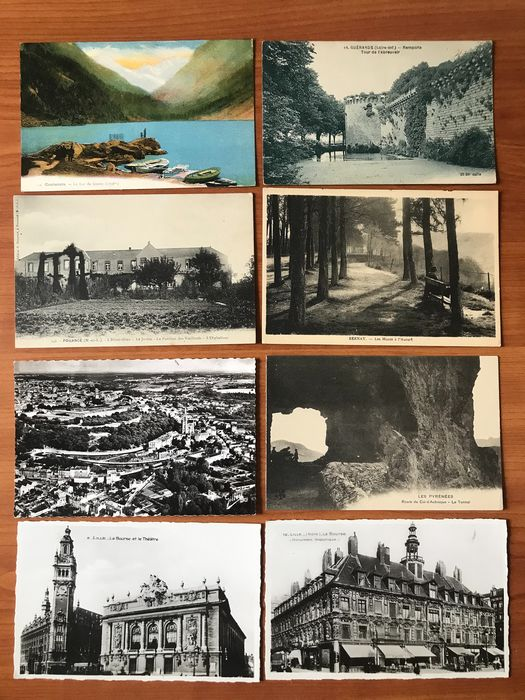 France - City & Landscape - Postcards (Group of 200) - 1900