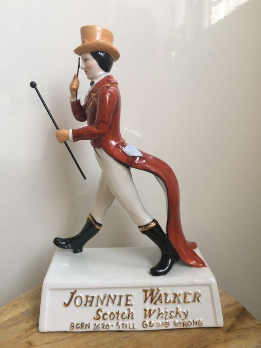 Johnnie Walker Scotch Whisky - Sculpture (1) - Porcelaine