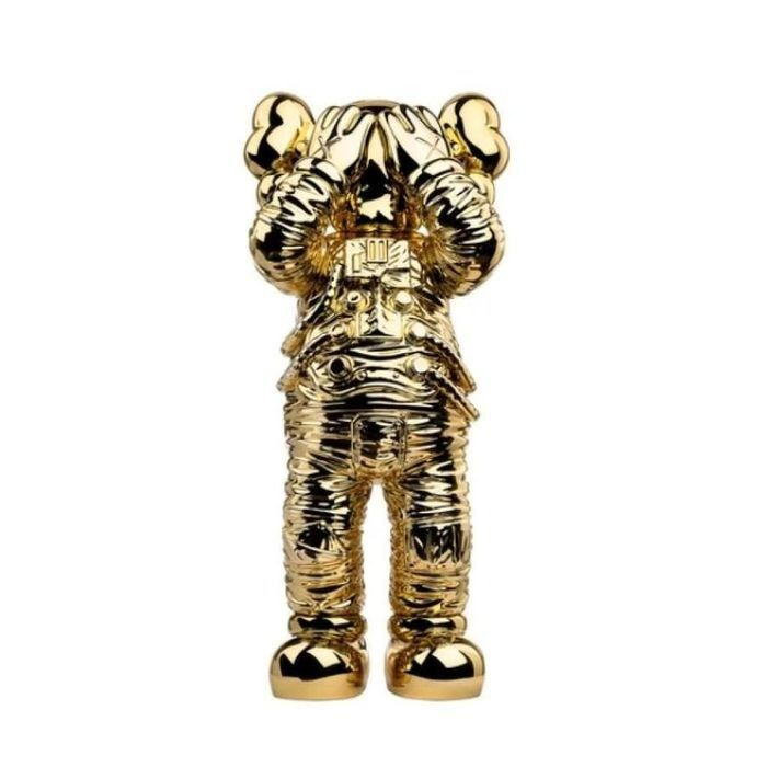 Kaws (1974) - Holiday Space Figure Gold