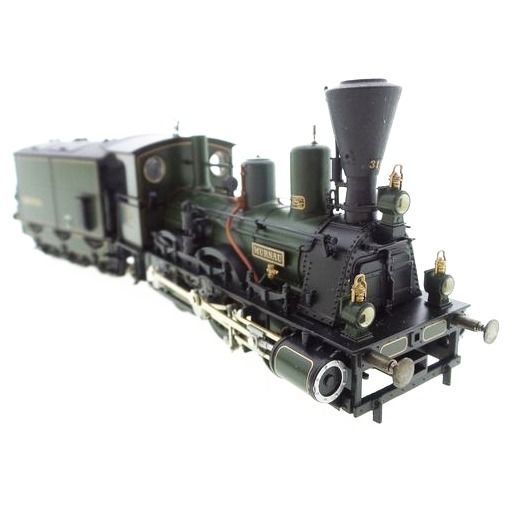 "Märklin H0 - 3497 - Steam locomotive with tender - Steam locomotive with peat tender ""Murnau"" series B VI - K.Bay.Sts.B"