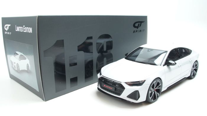 GT Spirit - 1:18 - Audi RS7 Sportback 2020 Glacier White - Limited edition  1 of 1200 units