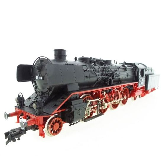 Fleischmann H0 - 4138 - Steam locomotive with tender - BR 39 - DB