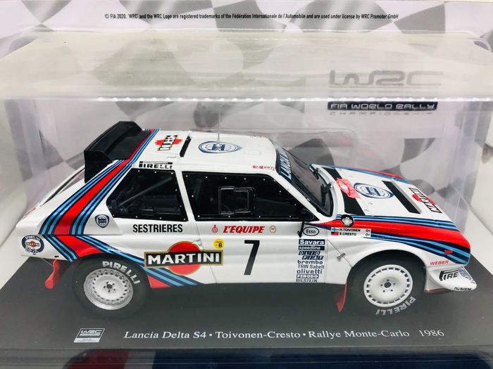 25x models WRC Collection - 1:24