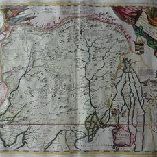 Asien, Northern Indian and Pakistan; Vicenzo Maria Coronelli - Impero del Gran Mogol - 1697