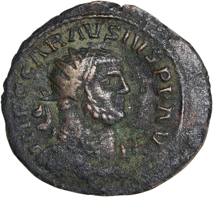 Roman Empire. Carausius (AD 286-293). Æ Radiate,  unattributed mint (possibly Camulondunum?), AD 287-293