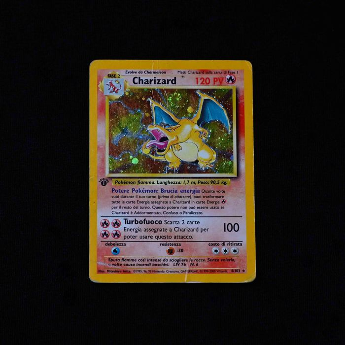 First Edition - Pokémon - Trading card Charizard Set + others holo base set/jungle and 1st edition