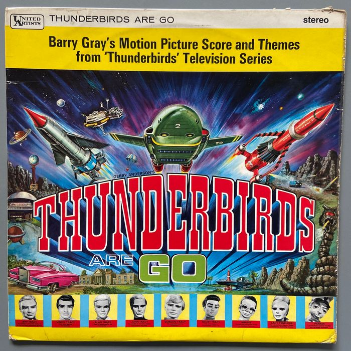 Barry Gray - Gerry Anderson's Thunderbirds Are Go - Album LP - 1967
