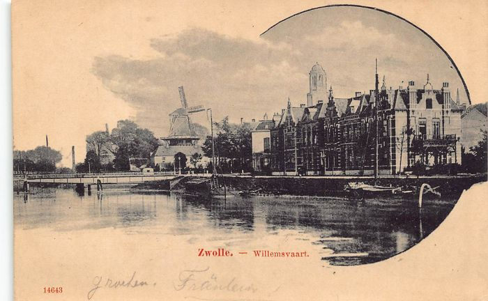 Netherlands - Zwolle - old cityscapes - Postcards (Collection of 106) - 1902