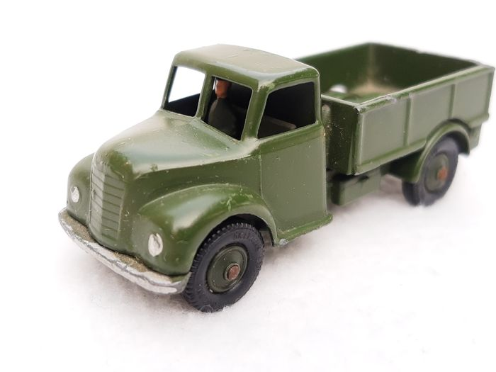 William Britains - Lilliput World Series - LV613 - Camion militaire (w.s. Austin) avec chauffeur - 1950-1959 - Royaume-Uni