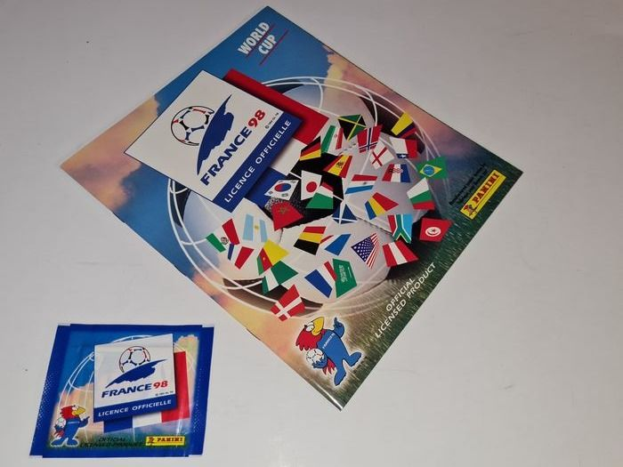Panini - World Cup France 98 - Empty album + Pack