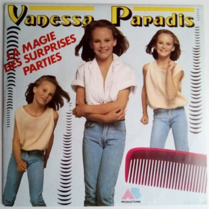 Vanessa Paradis , Rare First Single + 2 other singles - 45-toerenplaat (Single) - 1988/1985