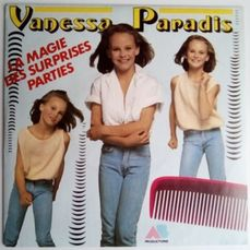 Vanessa Paradis , Rare First Single + 2 other singles - 45 rpm singel - 1988/1985
