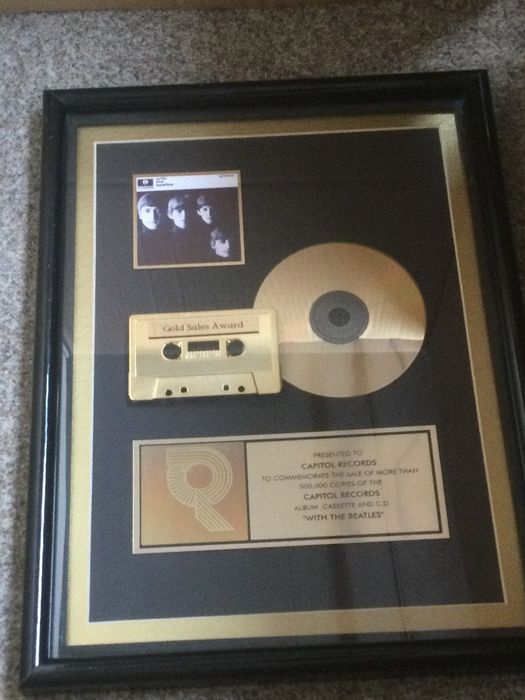 Beatles - With the Beatles - Official RIAA award - 1997/1997