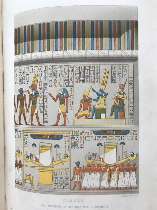 Georges Perrot and Charles Chipiez - A History of Art in Ancient Egypt - 1883