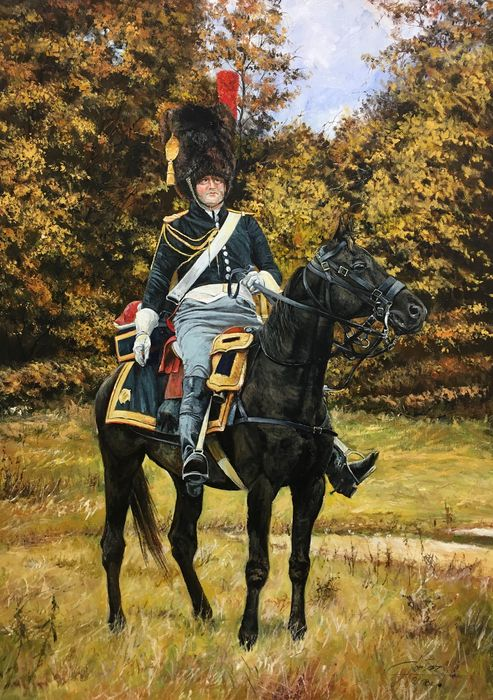Cortez (XX-XXI) - Soldier on horseback