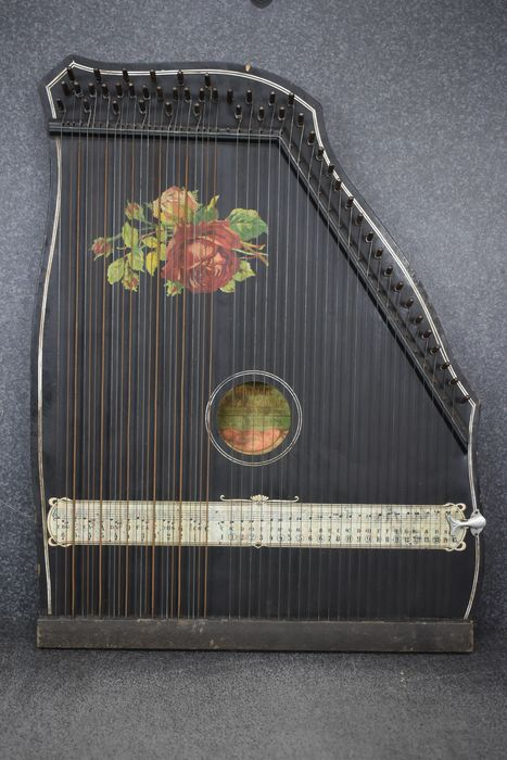 Unknown - Harfen-Zither - Cithare alpine (cithare de harpe) - Allemagne - 1950