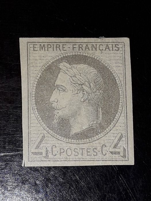 Frankrijk 1866 - Napoleon No. 27Be nine - Not dented by Calves. - Yvert