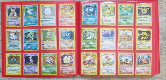 Pokemon - Complete album Complete WOTC base + Team Rocket, Fossil and Jungle NO RESERVE