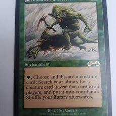 Wizards of the Coast . - Magic: The Gathering - Trading card Survival of the Fittest / Exodus