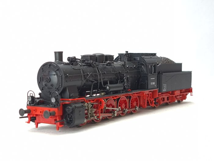 Roco H0 - 51318 - Steam locomotive with tender - BR 57 - DB