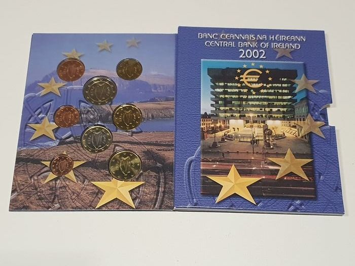 Ireland. Year Set 2002 II Oplage 20.000
