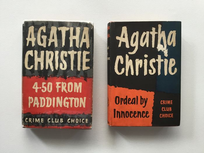 Agatha Christie - 4.50 from Paddington, Ordeal by Innocence - 1958/1957