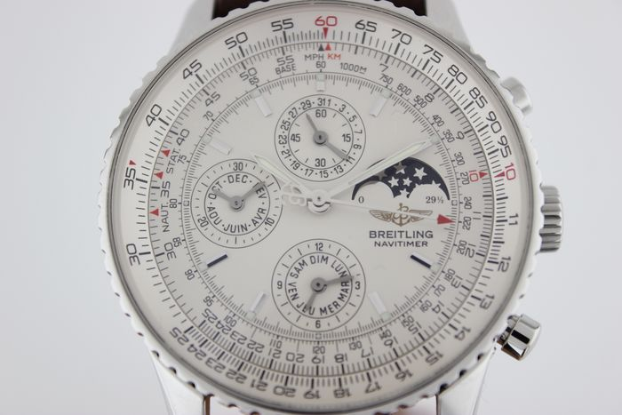 Breitling - Navitimer Olympus Perpetual Moonphase - Ref. A19340 - Uomo - 2011-presente