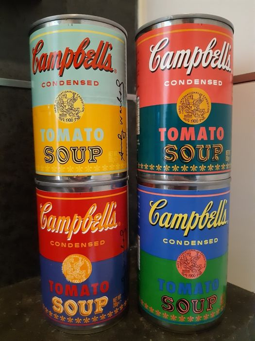 After Andy Warhol ( 1928 - 1987) - Campbell's Tomato Soup Limited Edition