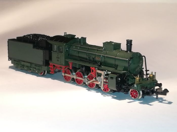 Trix N - 51 2922 00 - Steam locomotive with tender - G 4/5 - K.Bay.Sts.B