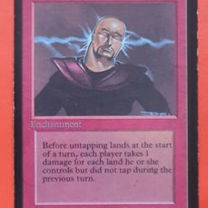 Magic the Gathering - Trading card Power Surge uit Alpha - 1993
