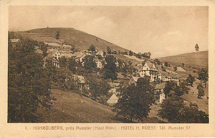 France - City & Landscape, Haut-Rhin and Bas-Rihn - Postcards (Collection of 112) - 1910